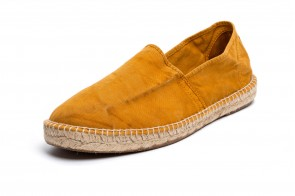 Espadrile Natural World, model Camping, Cuero, aspect Stone-Washed