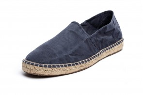 Espadrile Natural World, model Camping, Marin, aspect Stone-Washed
