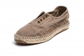 Espadrile Natural World, model Ingles, Bej, aspect Stone-Washed