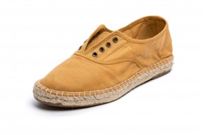 Espadrile Natural World, model Ingles, Lino
