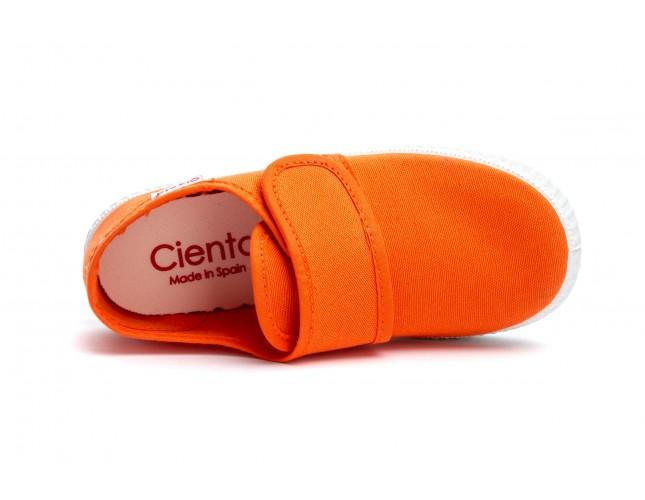 Tenisi Cienta by Natural World, model Blucher, Orange