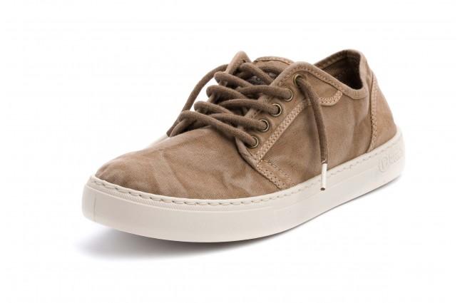 Pantofi Natural World, model BASKET 6602, Bej aspect stone-washed