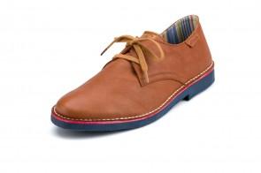 Pantofi ATXA, din piele, model Safari Samun 1916, Cuero