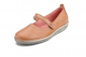 Pantofi ATXA din piele, model Rustik 1719, Cuero