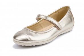 Pantofi Copii Piele Yowas, model Mercedes, AURIU