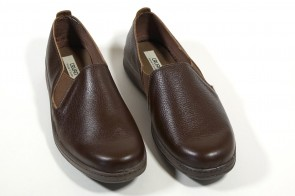 Pantofi din piele naturala Maro, pentru barbati