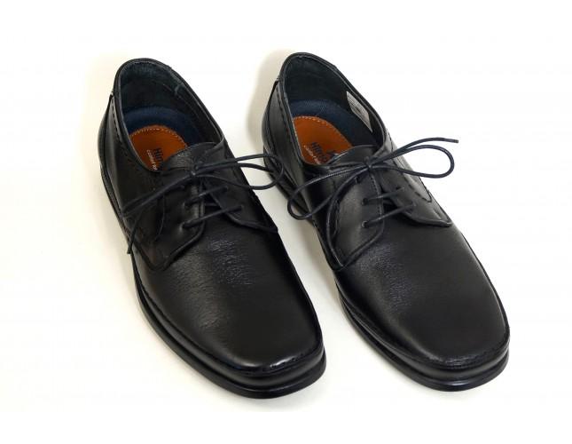 Pantofi din piele Negru, pentru barbati